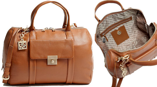 DKNY Crosby Classic Lock Satchel Bag