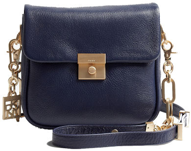 DKNY Crosby Navy Mini Cross Body Bag