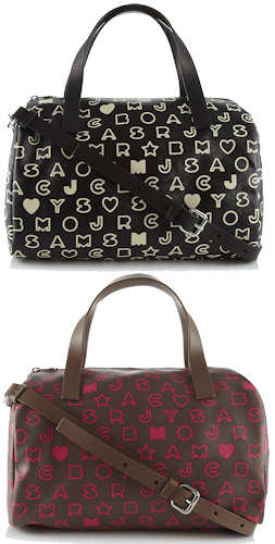 Marc by Marc Jacobs Eazy Bowling Bag black pink