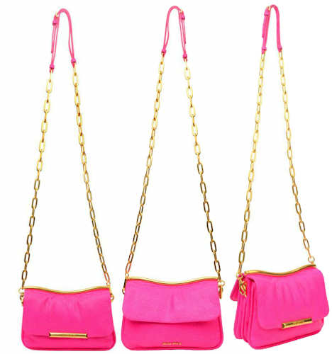 Miu Miu Pink Stingray Mini Bag