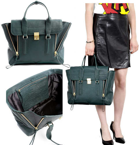 3.1 Phillip Lim Green Pashli Bag