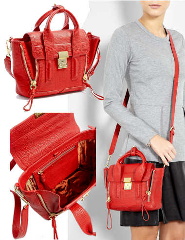 3.1 Phillip Lim Red Pashli Mini Bag