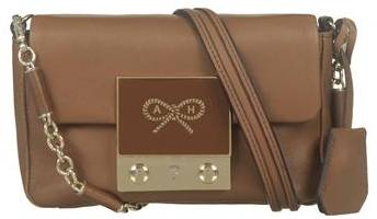 Anya Hindmarch Tiny Tim Small Cross Body Bag in Tan