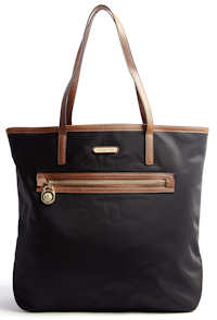 Michael Michael Kors Kempton North South Tote in black