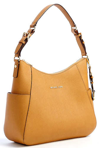 Michael Michael Kors Tan Jet Set Hobo