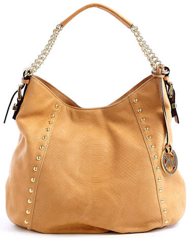 Michael Michael Kors Tan Middleton Hobo
