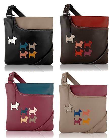Radley Four Dogs Bag