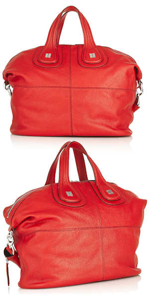 Red Givenchy Nightingale Tote