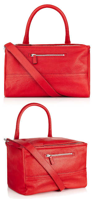 Red Givenchy Pandora Bag