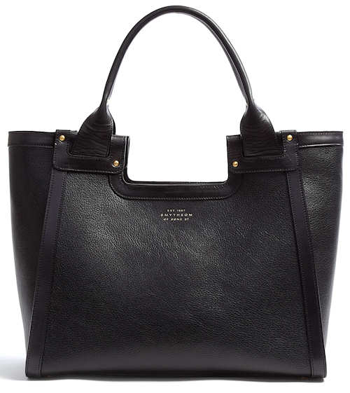Smythson Cooper Tote in Black