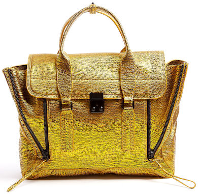 3.1 Phillip Lim Gold Pashli Bag