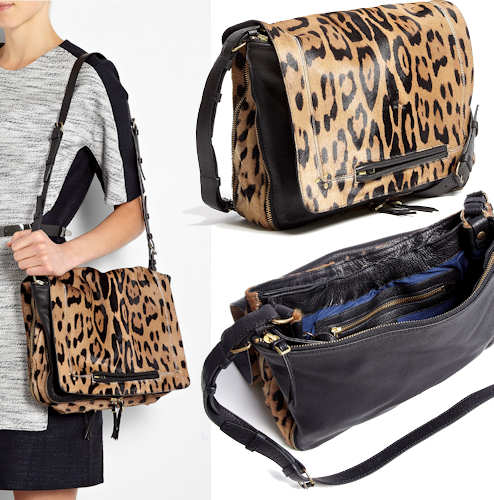 Jerome Dreyfuss Albert Leopard Bag
