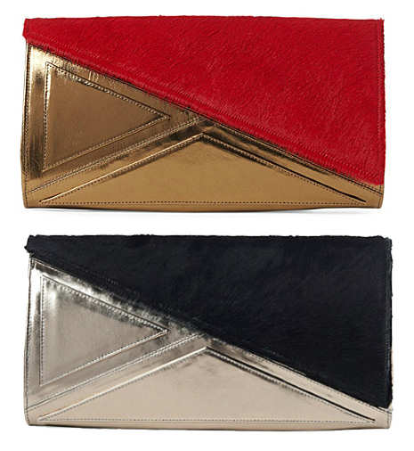 Kzeniya Asymmetric Pony Clutch