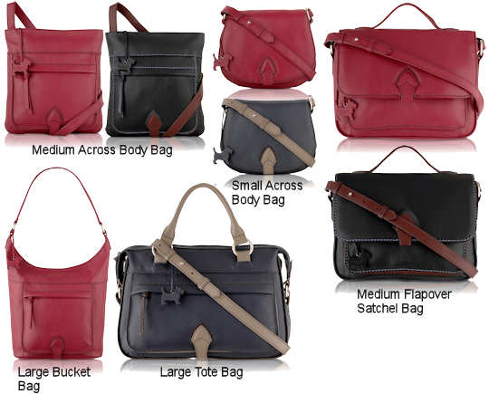 Radley Parkway and Radley Parkway Colour Flash Bags