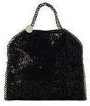 Stella McCartney Falabella Shoulder Bag in Black Glitter