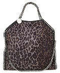 Stella McCartney Falabella Shoulder Bag in Leopard Print