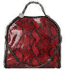 Stella McCartney Falabella Shoulder Bag in Red Python