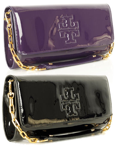 Tory Burch Oversized Bombe Clutch