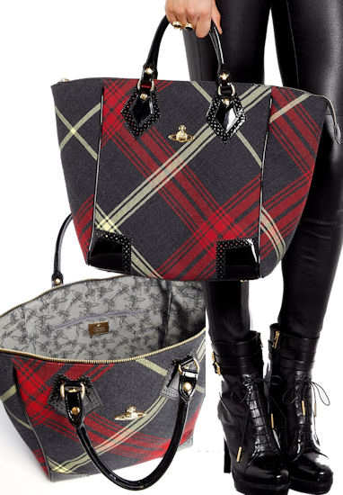 Vivienne Westwood Winter Tartan Shopper