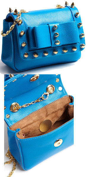 Aila Blue Spike Mini Bag