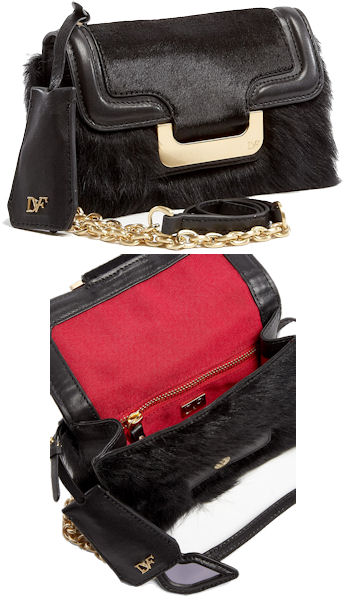 Diane Von Furstenberg Harper Charlie Haircalf Mini Bag