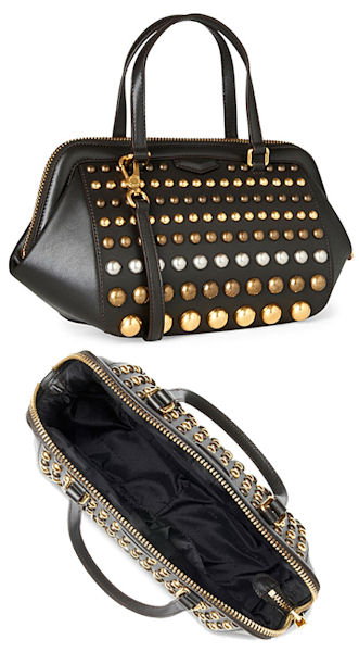 Marc by Marc Jacobs Thunderdome Studded Doctors Bag