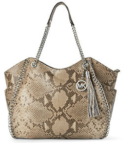 Michael Michael Kors Chelsea Shoulder Tote in Python