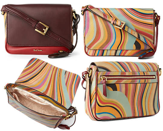 Paul Smith Alannah Bag in Swirl or Colour Block