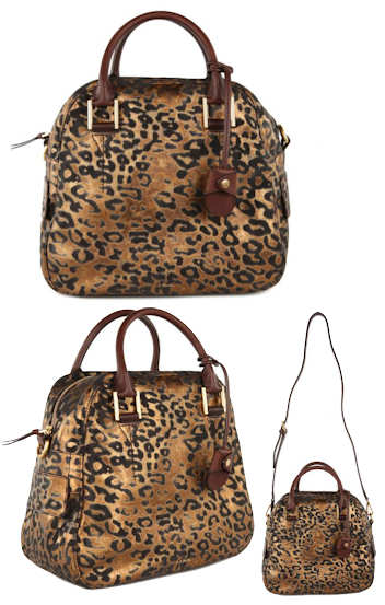 Paul Smith Bowly Metallic Leopard Bag