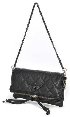 Zadig & Voltaire Rock Deluxe Quilted Clutch