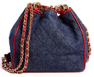 Chanel Denim Duffle Bag